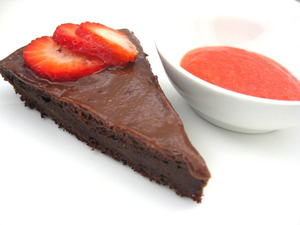 עוגת שוקו תות